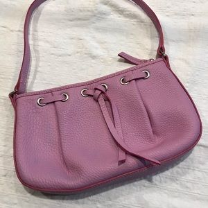 A beautiful lavender Dooney & Burke handbag